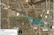 A map of the proposed extension by the City of Milwaukee.