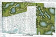 60 home development plan in the Village of River Hills.