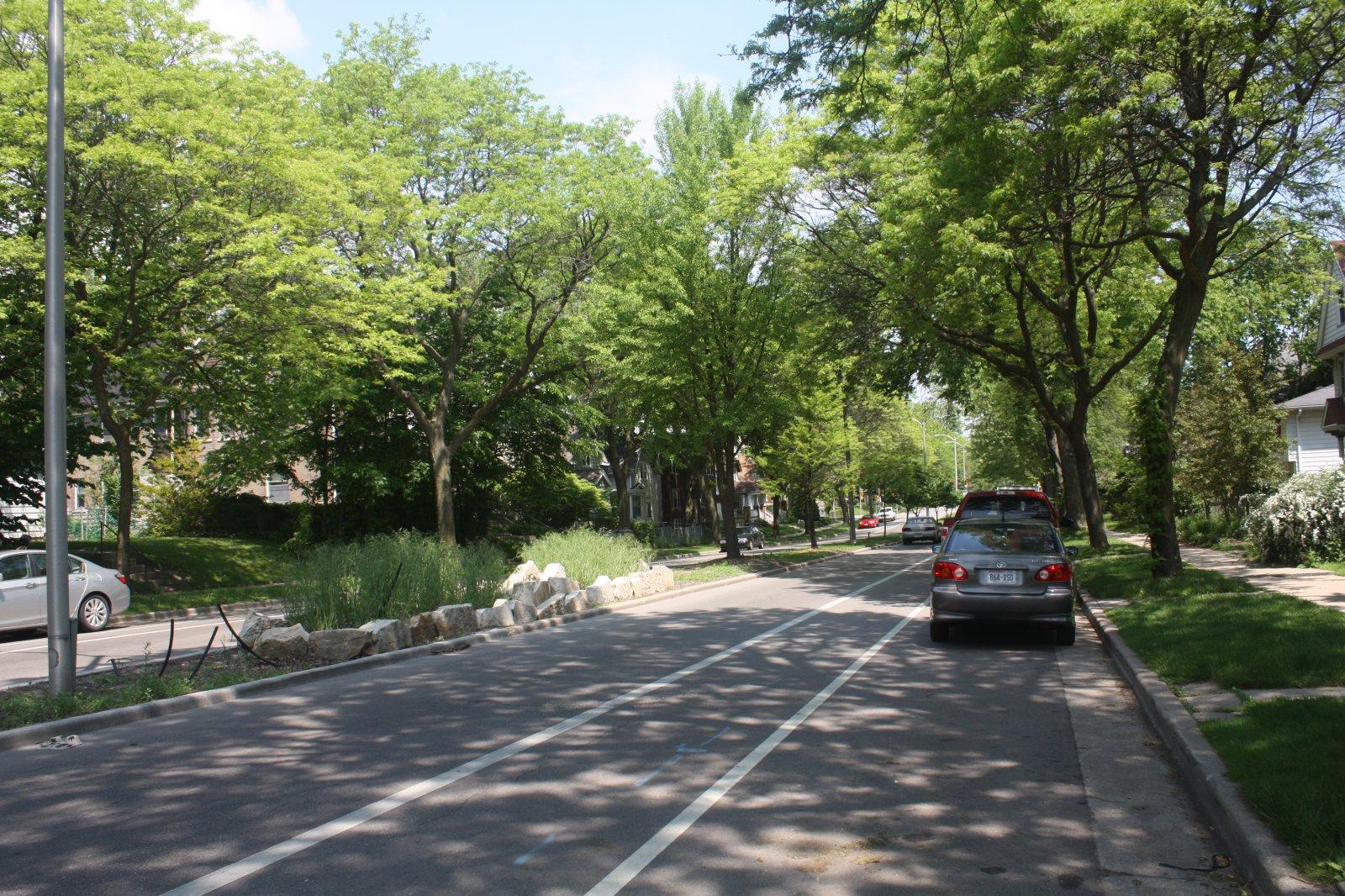 N. Humboldt Blvd. Photo taken June 1st, 2016 by Carl Baehr.