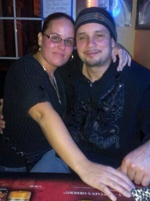 Roberto Zielinski, right, with his sister Angela Gonzalez. Photo courtesy of the Zielinski family/WPR.