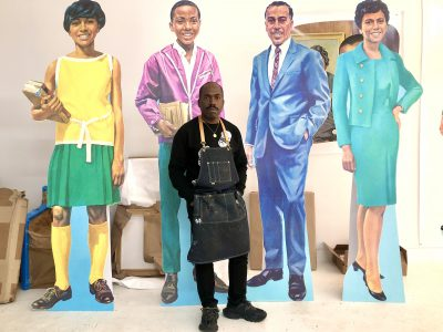 Milwaukee Art Museum to Unveil Large-Scale Mural Installation by Artist Derrick Adams
