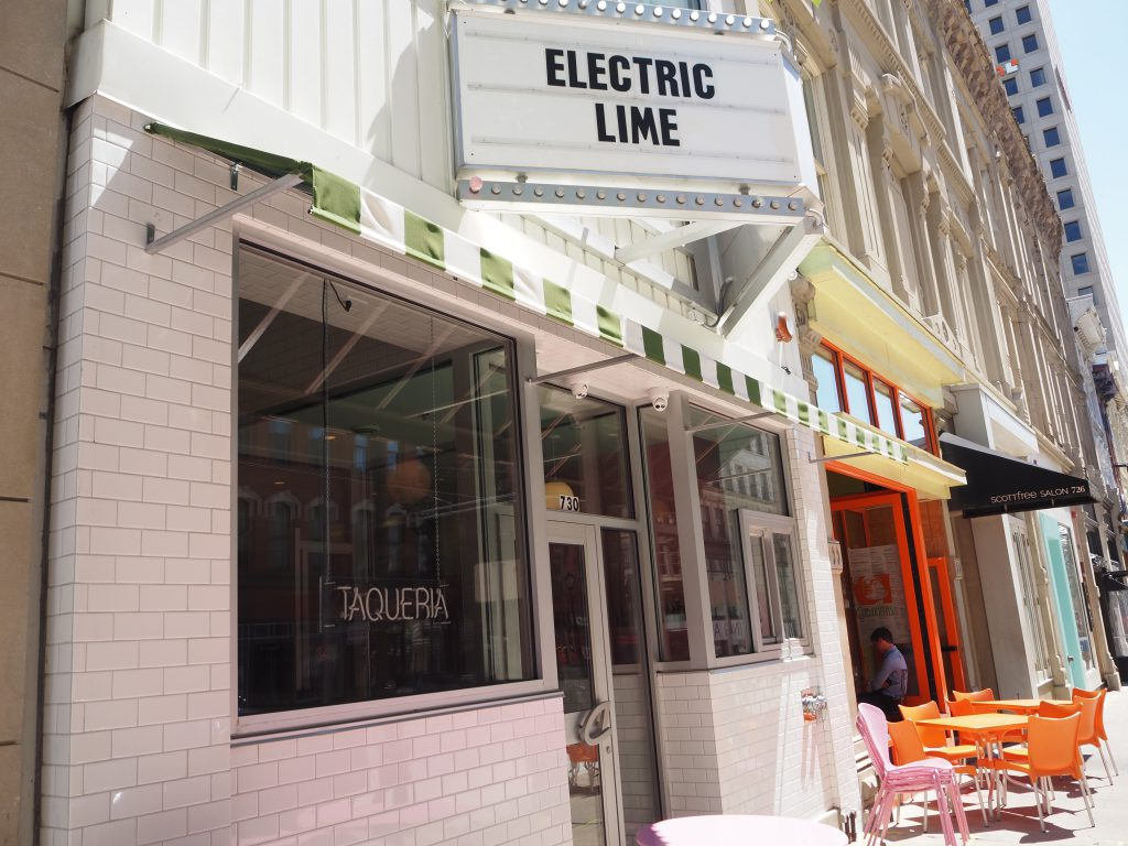 Electric Lime, 730 N. Milwaukee St. Photo by Angeline Terry.