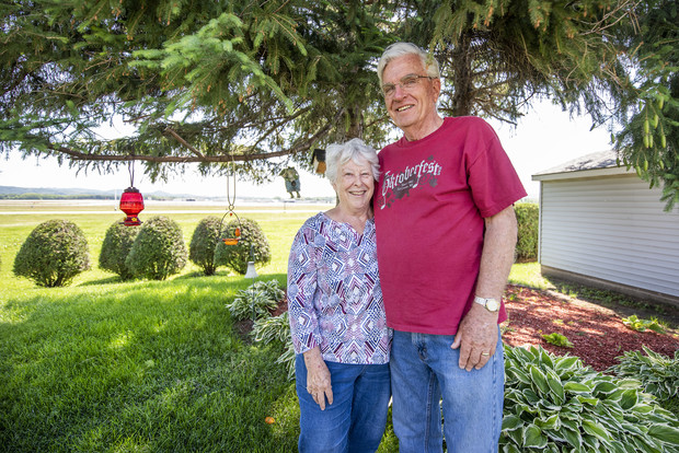 Mary and Dale Wetterling had to make adjustments after discovering PFAS contamination in their water at their French Island, Wis., home. Angela Major/WPR