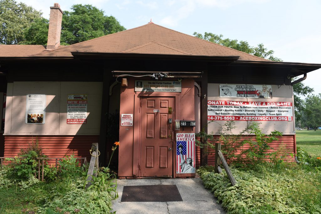 Ace Boxing Club is housed in the Del Porter Pavilion, 2160 S. 10th St. Photo by Sue Vliet/NNS.