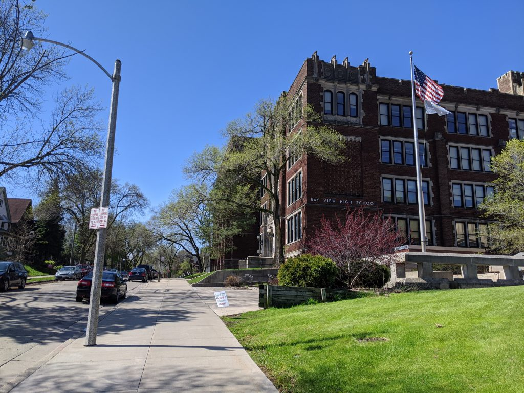 Bay View High School. File photo by Carl Baehr.
