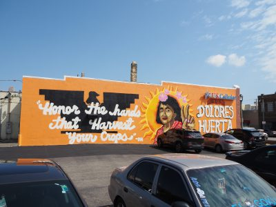 Dolores Huerta Mural Unveiled