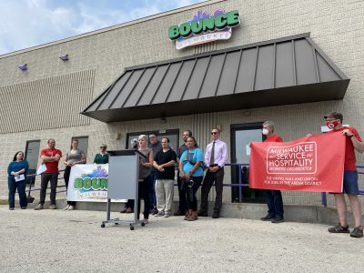 Bounce Milwaukee Guarantees Union For Employees