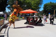 2021 Downtown Employee Appreciation Week kickoff at Red Arrow Park. Photo by Jeramey Jannene.