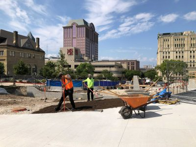 Eyes on Milwaukee: MSOE Developing Park, New Welcome Center