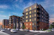 Taxco Apartments. Rendering by JLA Architects.