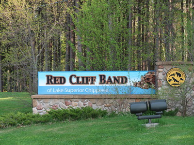 The Red Cliff reservation is located within Bayfield County in northern Wisconsin. Danielle Kaeding/WPR