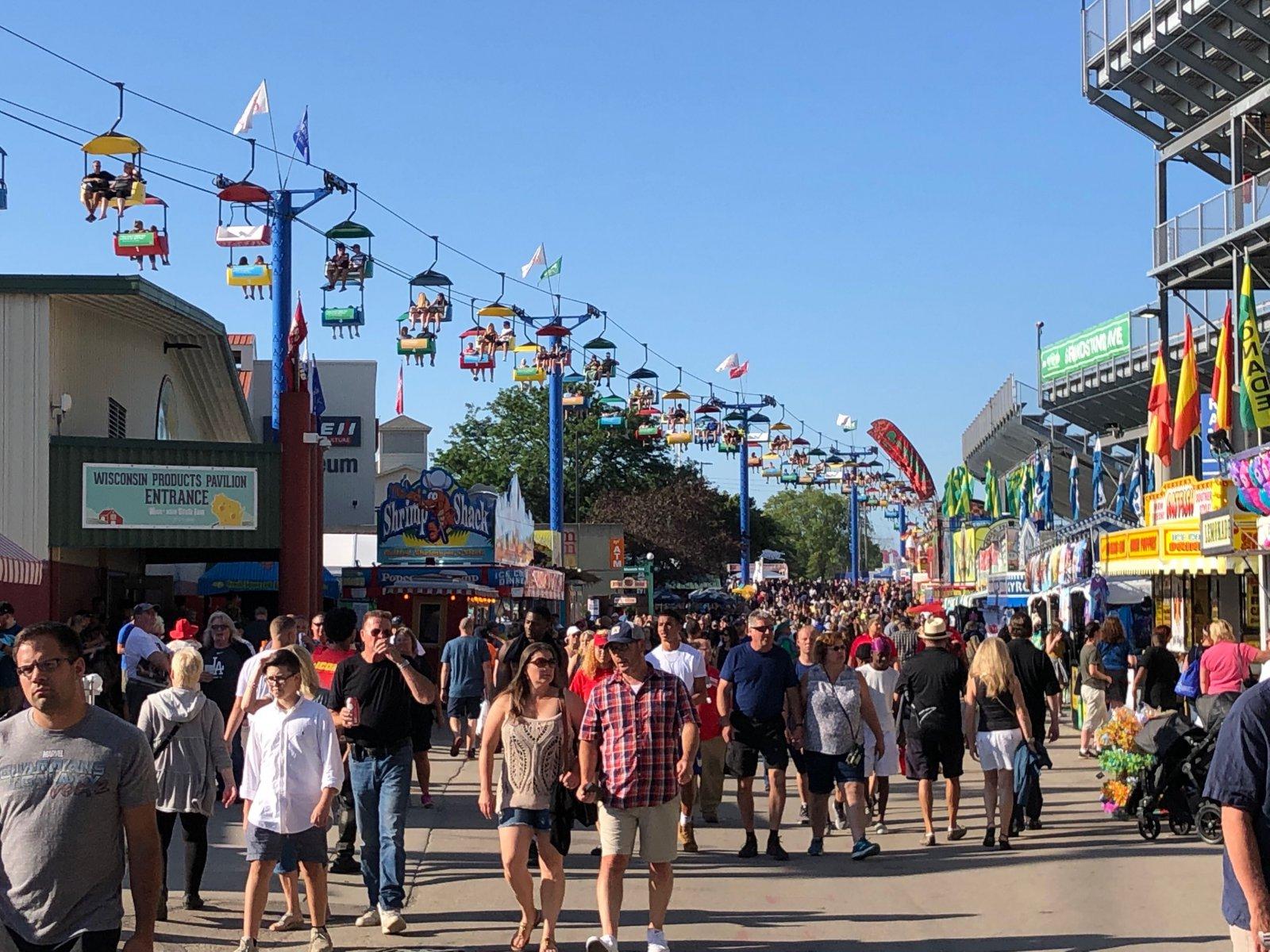 Wisconsin State Fair. Photo taken August 1, 2019 by Jeramey Jannene.