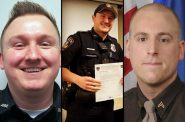From left, Officers Riley Schmidt, Jacob Ungerer and Ben Dolnick are some of the nearly 200 law enforcement officers currently employed in Wisconsin who have been fired from previous jobs in law enforcement, resigned in lieu of termination or quit before completion of an internal investigation. Credit: Photos courtesy of the Darlington Police Department, Middleton Police Department Facebook page and the Dane County Sheriff's Office