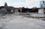 Demolition of 1237 N. Van Buren St. Photo by Jeramey Jannene.