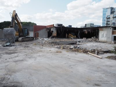 Friday Photos: Demolition Underway For East Town Apartments