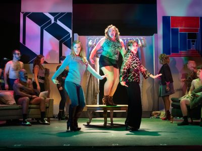 Theater: Big Voices Power 'The Full Monty'