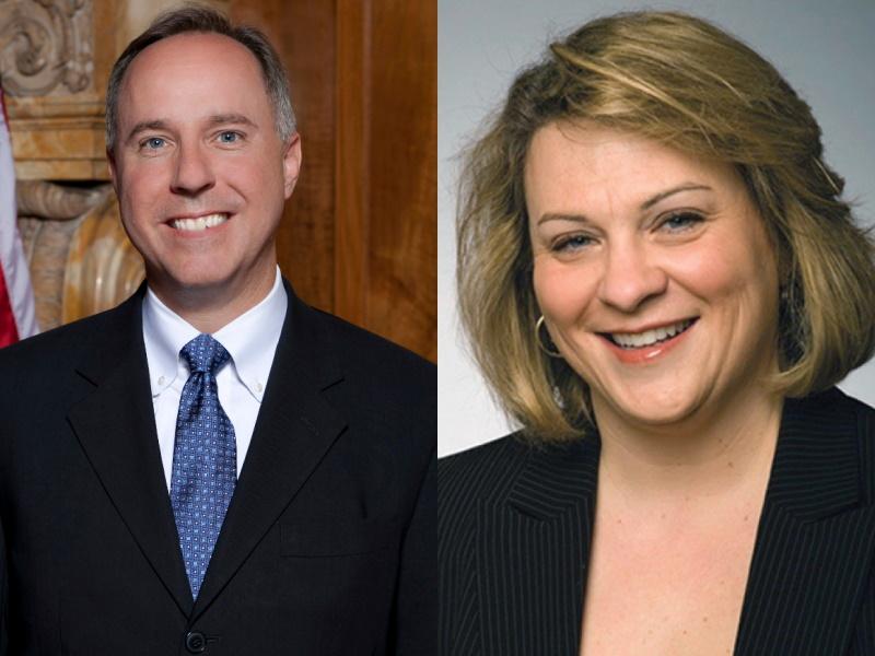 Assembly Speaker Robin Vos and State Rep. Janel Brandtjen.
