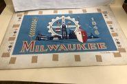 1952 Milwaukee flag design by Fred Steffan. Photo by Jeramey Jannene.