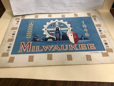 Milwaukee Finds Its Original City Flag