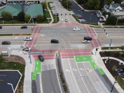 Milwaukee Regional Medical Center Celebrates Completion of Wauwatosa's Most Complete Street