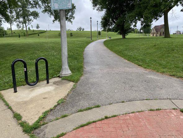 Where the walk starts. Photo by Cari Taylor-Carlson.