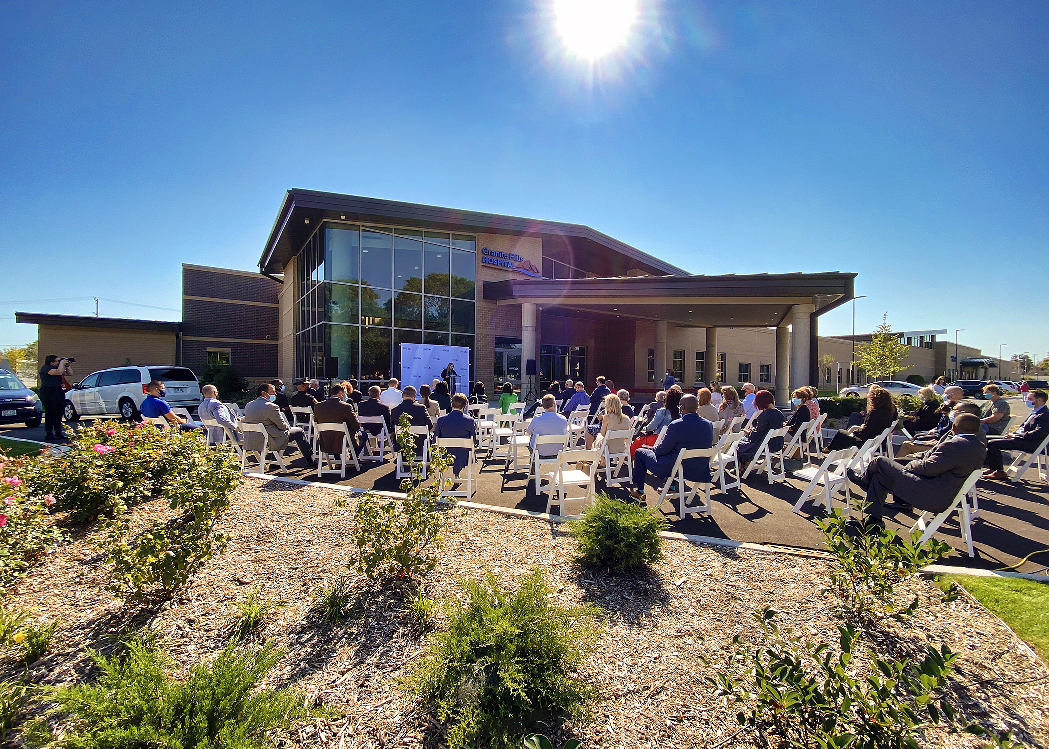 Granite Hills Hospital Celebrates its Completion with Ribbon Cutting Ceremony