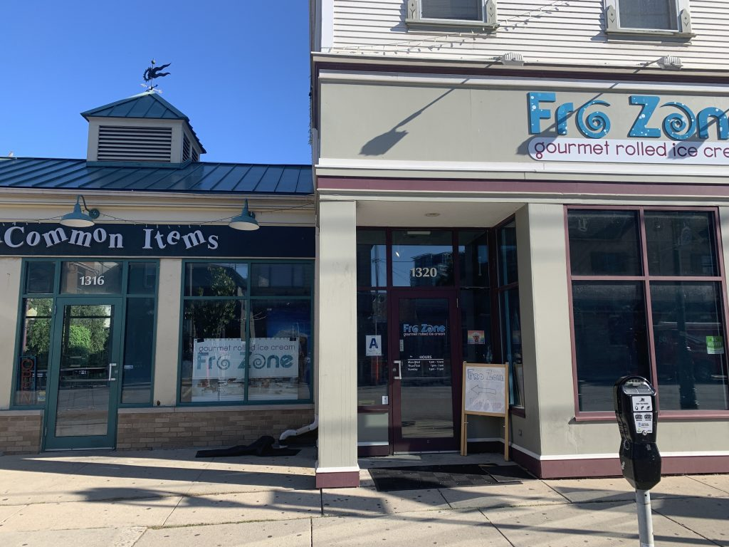 Fro Zone is moving into Uncommon Items' location next door. Photo by Annie Mattea.
