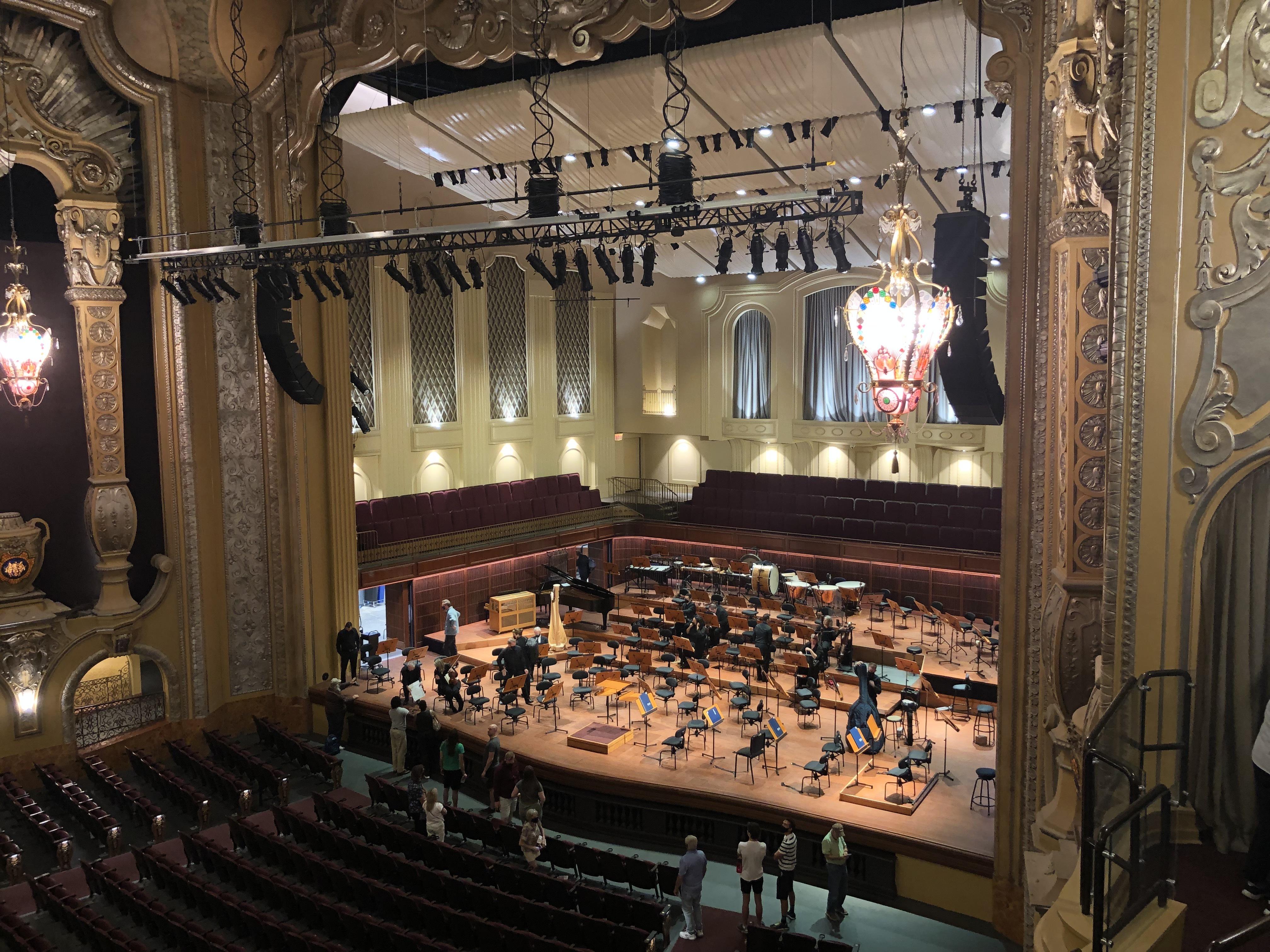 Bradley Symphony Center. Photo taken September 26, 2021 by Dave Reid.