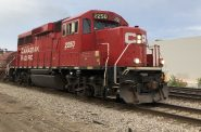 A Canadian Pacific locomotive in Milwaukee. Photo by Jeramey Jannene.