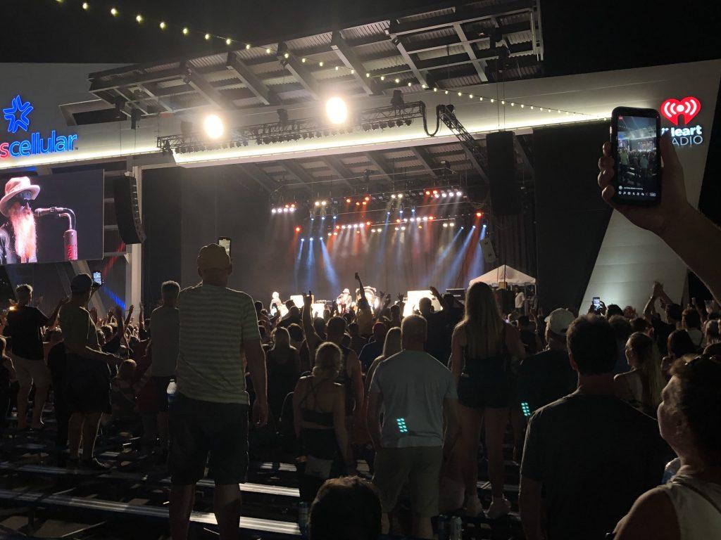 ZZ Top at Summerfest 2021. Photo by Jeramey Jannene.