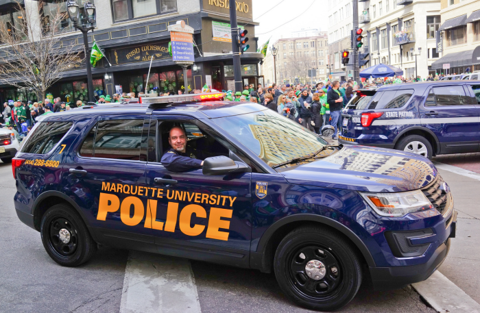MUPD assistant chief honored with Excellence in University Service Award