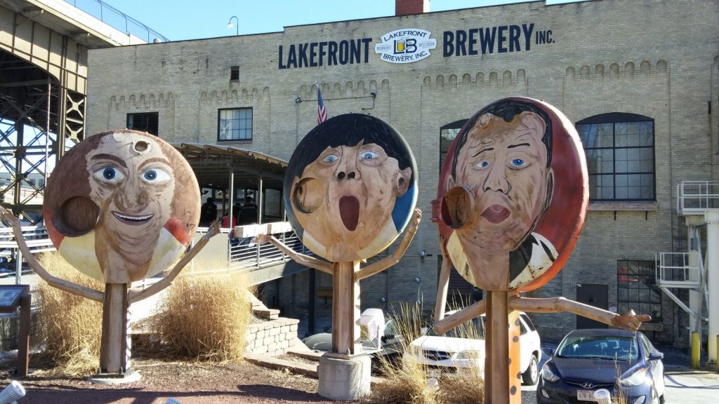 Lakefront Brewery. Photo taken February 9th, 2019 by Carl Baehr.