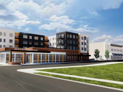 Eyes on Milwaukee: New MLK Library Plan Razes Theater, Raises 93 Apartments