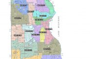 Independent Redistricting Committee's third map.