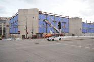 Renovation work at 501 W. Michigan St. Photo by Jeramey Jannene.