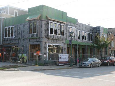 Friday Photos: Work Nears Completion on New Brady Street Building