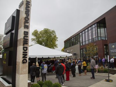Harambee Building Named For Reuben and Mildred Harpole