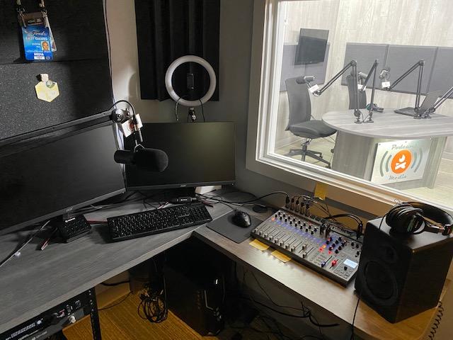 Podcamp Media studio. Photo courtesy of Podcamp Media.