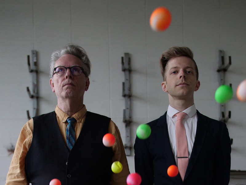 David Bloom and Eric Segnitz, co-artistic directors of Present Music. Photo courtesy of Present Music.