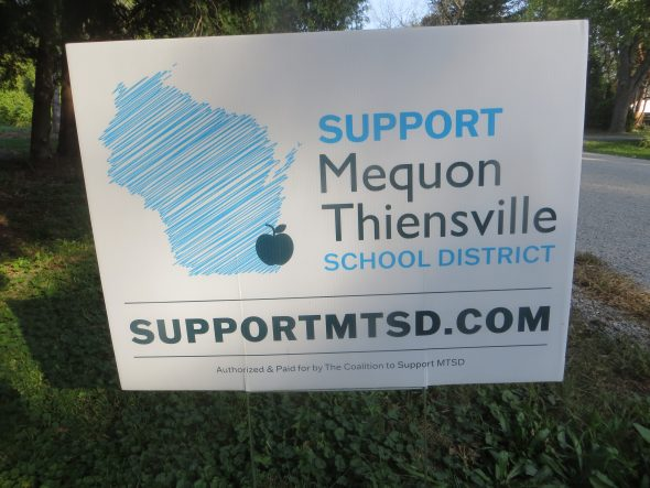 Support MTSD sign. Photo by Michael Horne.