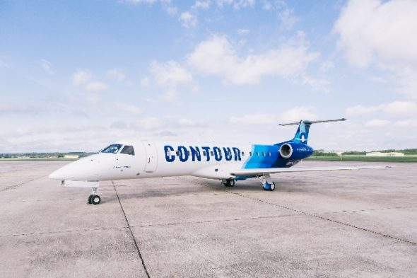 Contour Airlines. Photo courtesy of Milwaukee Mitchell International Airport.