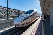High speed train. (Pixabay license)