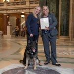 K9 Bane and Detective Holly McManus Named 2021 First Responders of the Year