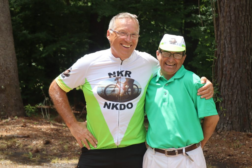 Mark Scotch and Hugh Smith. Photo from the Organ Trail.