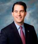 Governor Scott Walker Signs Family Care Bill into Law at Rock County Courthouse